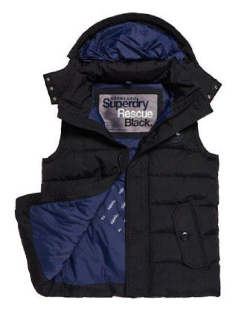 Mens Superdry Emboss Hybrid Jacket coat rrp £95