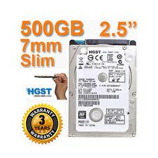 """BRAND NEW 500GB HGST 2.5"""" SATA II Laptop Internal Hard Disk Drive PC MAC PS3/4"""