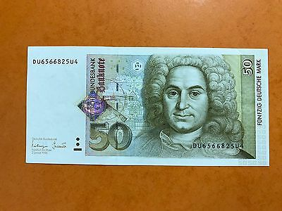 Billet 50 Deutsche Mark Banknote Allemagne 1996