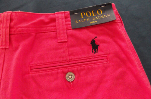 2 mist maat katoenen Polo Lauren Nwt roze 888572193937 Ralph short q8S1w6H