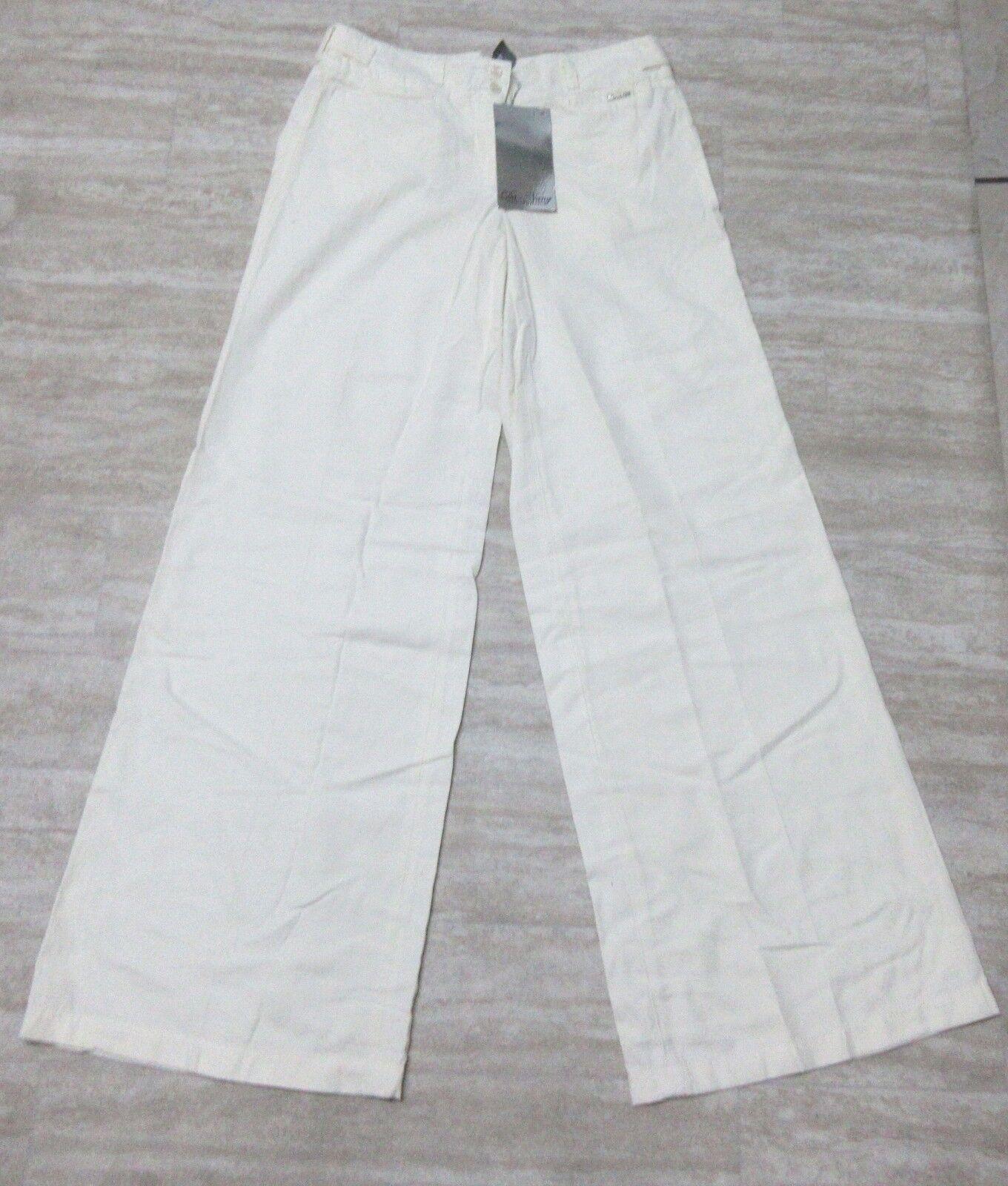 NEW Da-Nang Surplus Women's Flare Pants EGGSHELL CS21964 Size  2