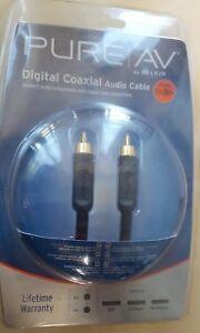BELKIN-PURE-AV-AV20100EA12-DIGITAL-COAXIAL-AUDIO-CABLE3-6M-R1S6-3B1