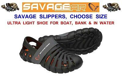 Savage Gear Bivvy Slippers Fishing Waterproof  Ultra Lightweight EVA