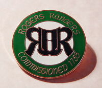 Roger's Rangers badge Of Allegiance Replica Pin - 1700's - Mountain Man -new