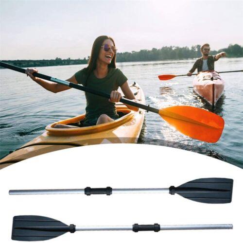 Adjustable Length 1 Pair Aluminium Boat Oars Water Paddles Canoe Kayak Dinghy