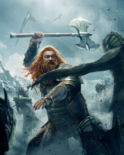 Stevenson, Ray [Thor The Dark World] (53681) 8x10 Photo