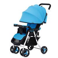 Luxury Lightweight Newborn Baby Stroller Toddler Travel Univesal Folding Hot
