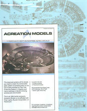 AZTEC DECALS for NX-01 REFIT ENTERPRISE 1/1000 scale model kit NEW for 2014