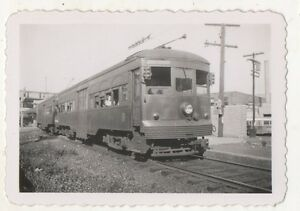 PST-Philadelphia-Suburban-Transit-Trolley-to-69th-Street-Station-PA-Photograph
