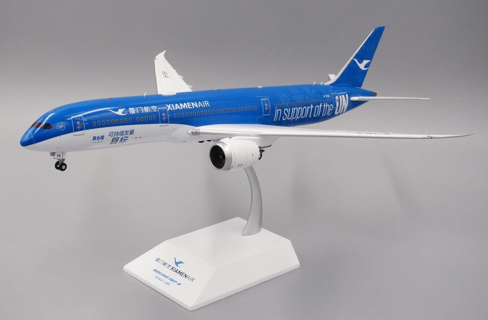 JC Wings 1 200 Xiamen Airlines B787-9 Dreamliner 'United Nations GOALS' B-1356