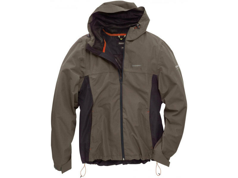 Craghoppers uomini Terrain Lite Shell Waterproof Lightweight Walre Jacket