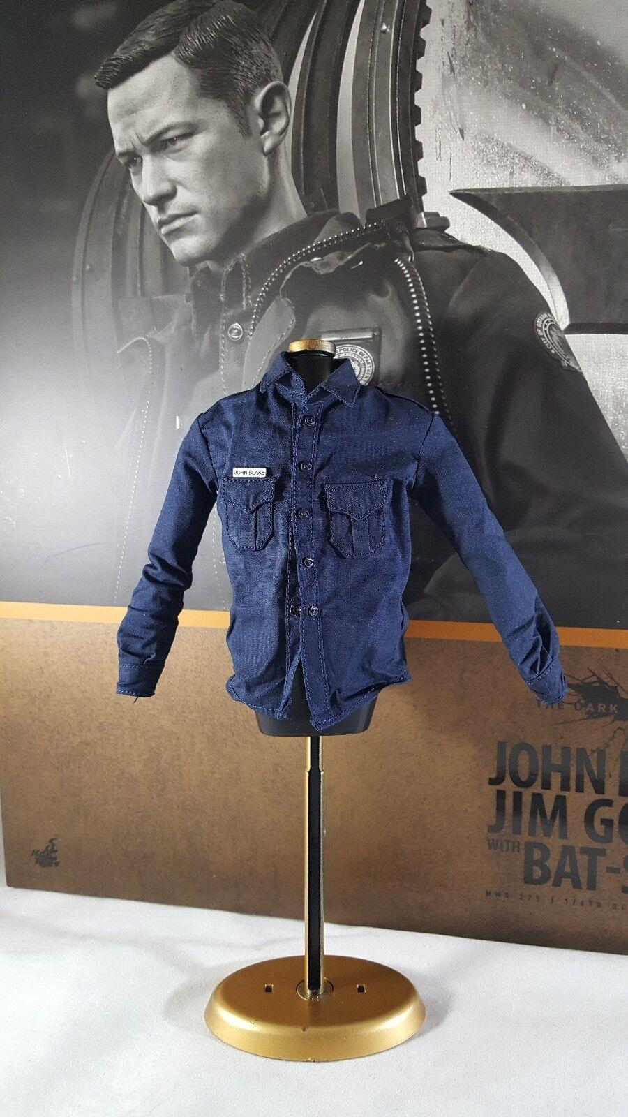 Hot Toys MMS275 MMS275 MMS275 Batman 1 6 John Blake action figure's police uniform shirt only 150994