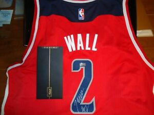 6e3abb5965f ... norway image is loading panini authentic john wall signed wizards  jersey adidas 1bb0f bbd33