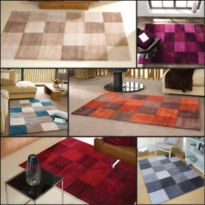 moderne-qualite-carrees-Design-sculpte-a-la-main-doux-Tapis-en-tailles-variees