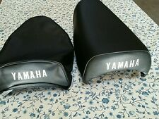 YAMAHA MX125 MX 125 1975 Seat Cover BLACK (Y33)