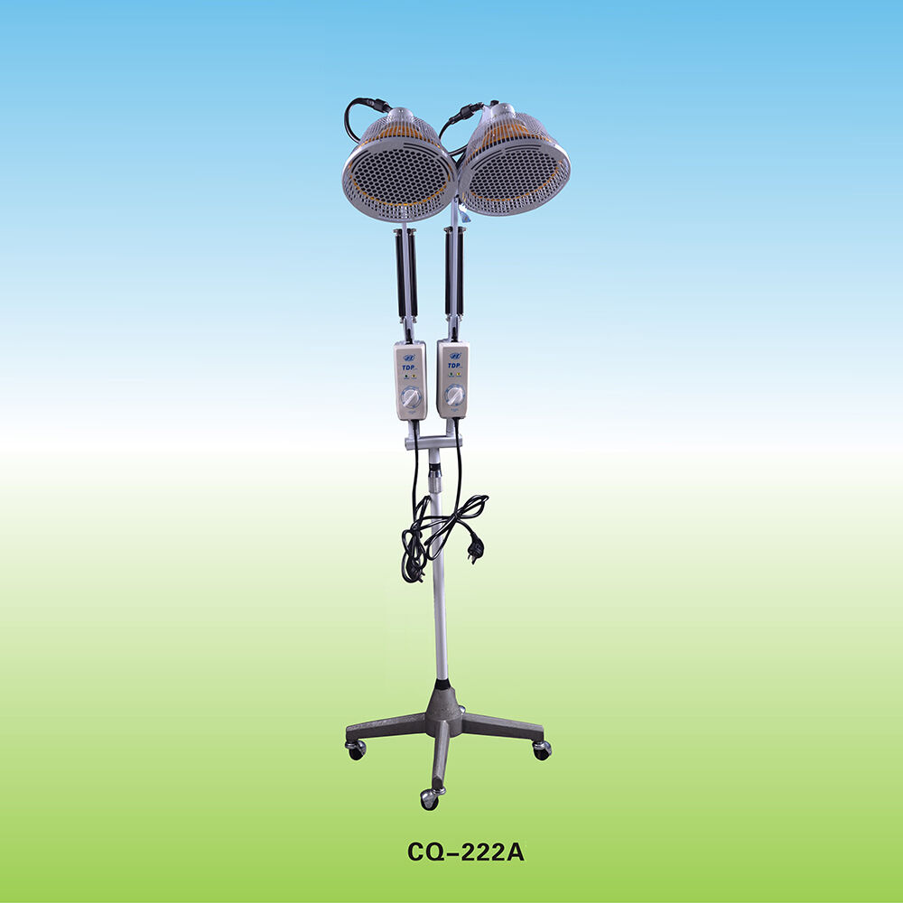 Acupuncture Tdp Mineral Lamp Far Infrared 2x250w Doubel Heads Heating Device Ebay