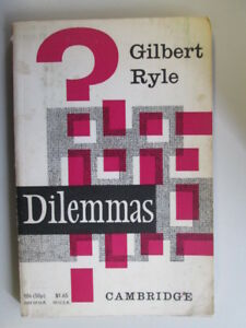 Acceptable-Dilemmas-The-Tarner-Lectures-1953-Ryle-G-1969-01-01-Foxing-tan