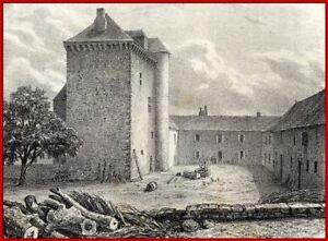Allier Tour De Noyant Canton De Souvigny 1860
