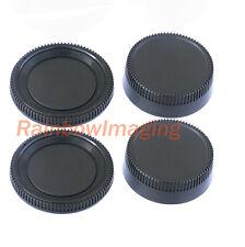 2 Pcs x Rear Lens Cover + Camera Body Cap for Nikon DSLR replaces LF-1 BF-1B