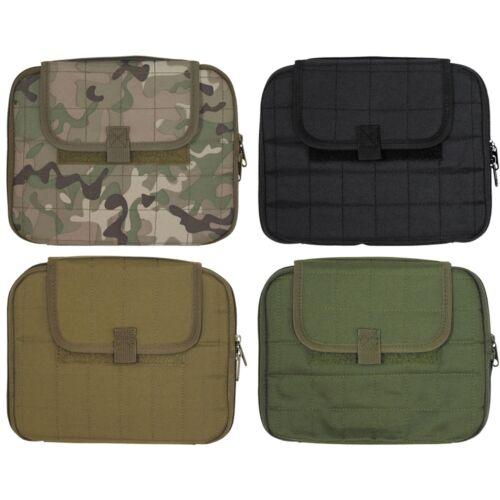 Bolso Tablet 25cm 10 pulgadas MFH molle exterior camping correa fijación colores!