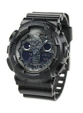 CASIO G-SHOCK MEN'S CAMOUFLAGE DIAL SERIES WRISTWATCH GA-100CF-1A