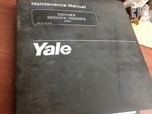 Yale-Maintenance-Manual-ESC030FA-ESC035FA-ESC040FA