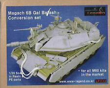 Legend Magach 6B Gal Batash Conversion Set 1/35 Resin Photo Etch M60 Kit #LF1112