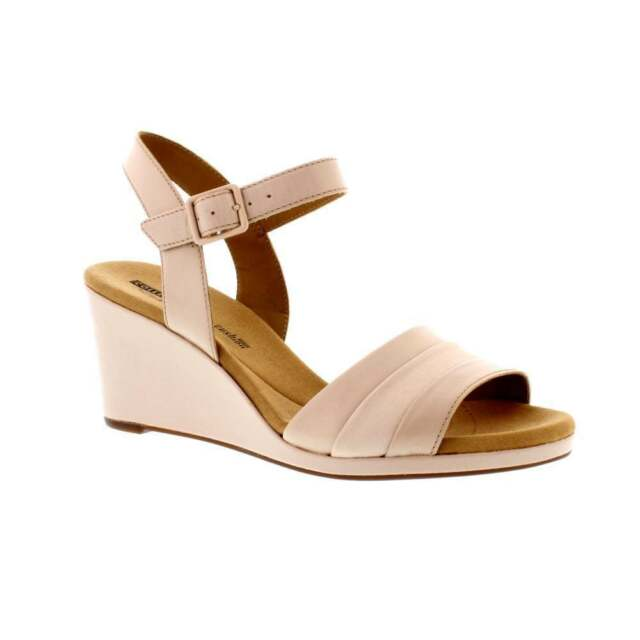 f2007df48f6 Clarks Lafley Aletha - Dusty Pink Leather Womens Sandals 6.5 UK