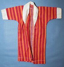 """Vtg Spiegel Catalogue Mod Wardrobe Fits Ken 12"""" Clone Red Orange Stripe Robe"""