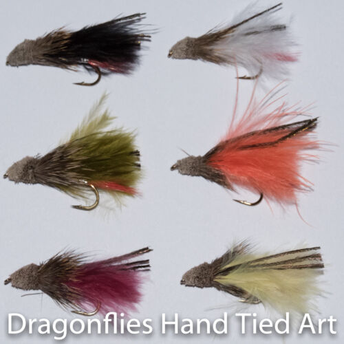 12 Marabou Muddlers Streamers Fly fishing Trout  Flies by Dragonflies