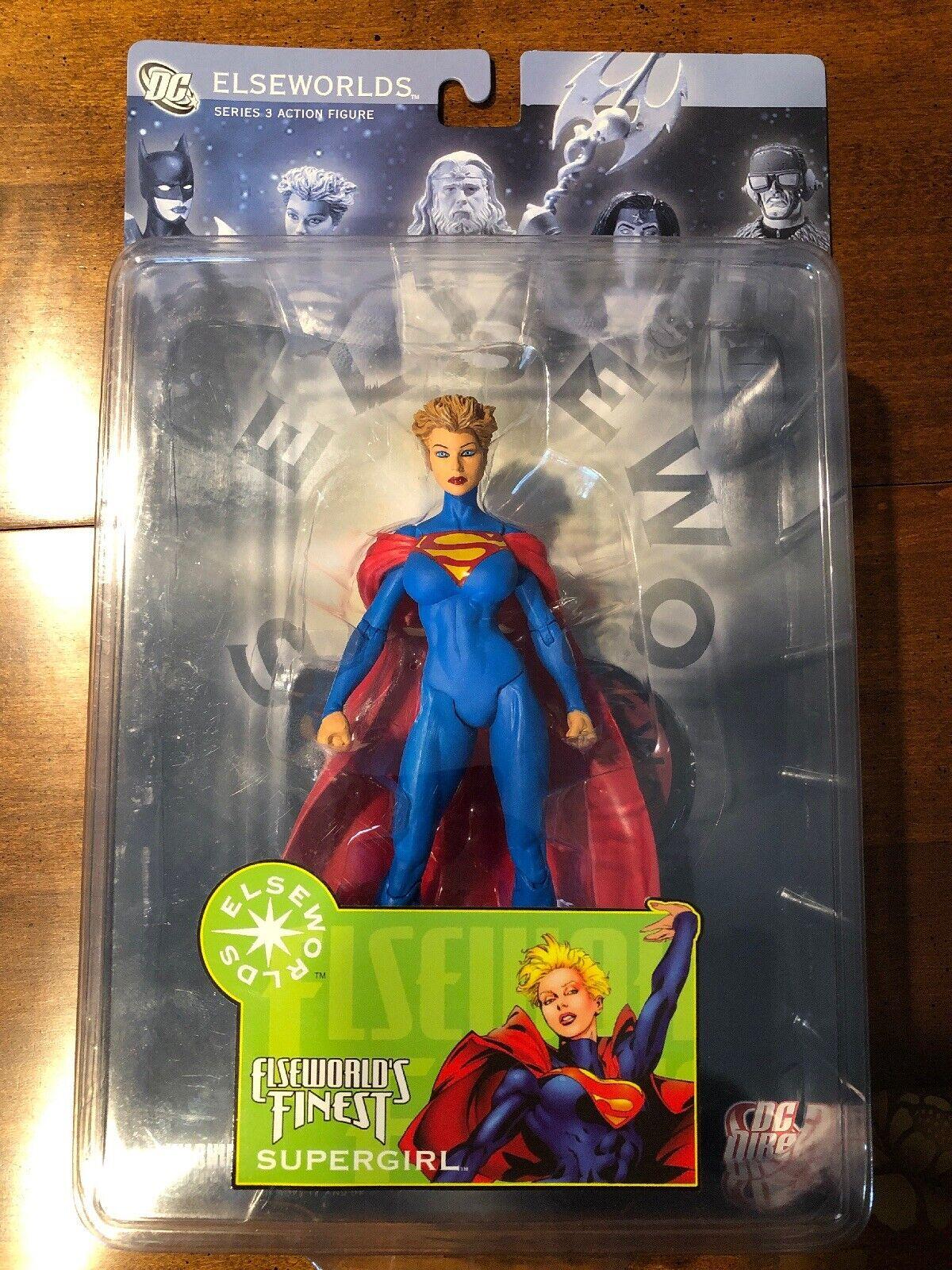 Impresionante Elseworlds mejores serie 3 súpergirl 6in Figura de Acción Juguetes DC Direct