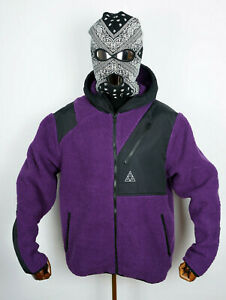 Huf-Worldwide-Skateboard-Winter-Jacke-Jacket-Aurora-Tech-Purple-Velvet-in-M