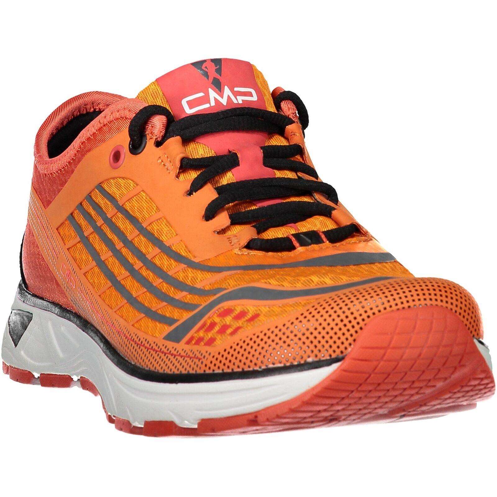 CMP Running Sports shoes Libre  Running shoes orange Plain Colour Mesh  cheap and fashion