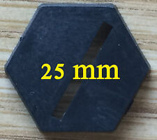 25mm Hex Bases - 100 count
