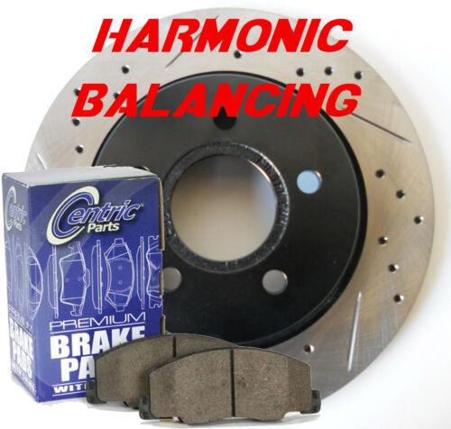 Highlander FWD Performance Rotors Cermaic Pads Harmonic Balancing Design F+R Set