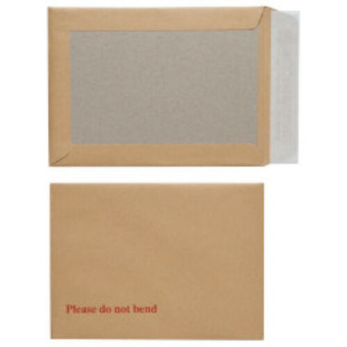 100x Strong A4 Board Backed Mailers Envelopes 229x324mm