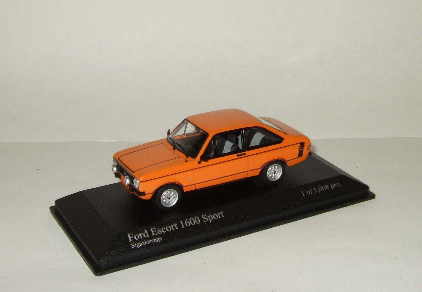 1 43 Minichamps Ford Escort 1600 Sport II 1975 400084471