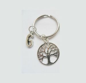 Personalized-Initial-Tree-of-Life-keychain-Keyring-A-Z-Buy-4-save-40
