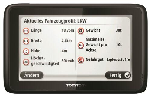"TomTom Business pro 7150 Europa Truck 45 países 5/"" Europe IQ GPS camiones de navegación"