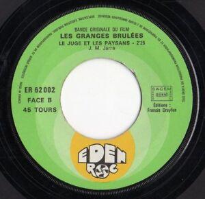 JEAN-MICHEL-JARRE-034-LES-GRANGES-BRULEES-034-RARE-FRENCH-7-034-VINYL-FRANCE-VANIER