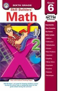 Skill Builders Math Comprehension Grade 6 By Rainbow Bridge