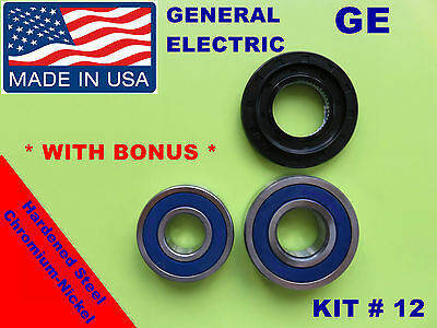 GE,GENERAL ELECTRIC,KIT # 7, FRONT LOAD WASHER,2 TUB BEARINGS AND SEAL