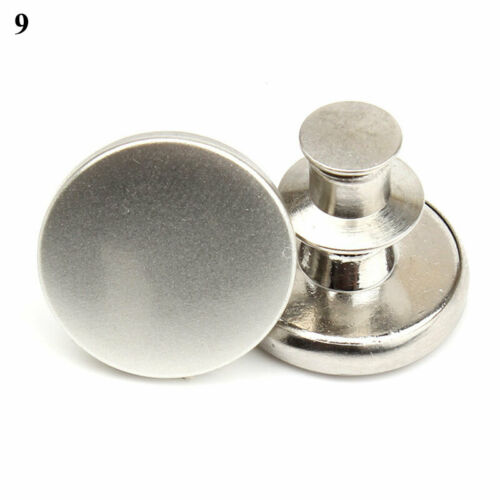 Jeans Buttons Retractable Sewing Supplies Adjust Detachable Snap Fastener Crafts