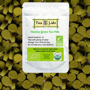 Matcha Green Tea Powder Pills, Organic Premium Matcha, not capsules