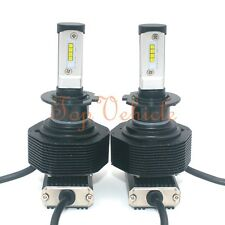 280W 28000LM CREE LED Headlight Conversion Kit H7 6000K Xenon White Bulbs Pair