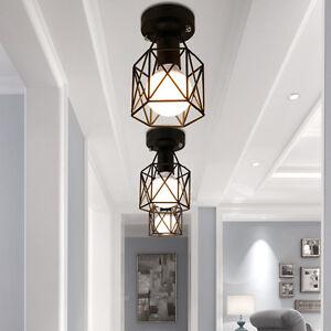 Flush-Mount-Ceiling-Lights-Kitchen-Black-Lighting-Bar-Lamp-Bedroom-Pendant-Light