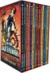 Secret-Agent-Jack-Stalwart-14-Books-Collection-Set-Pack-NEW