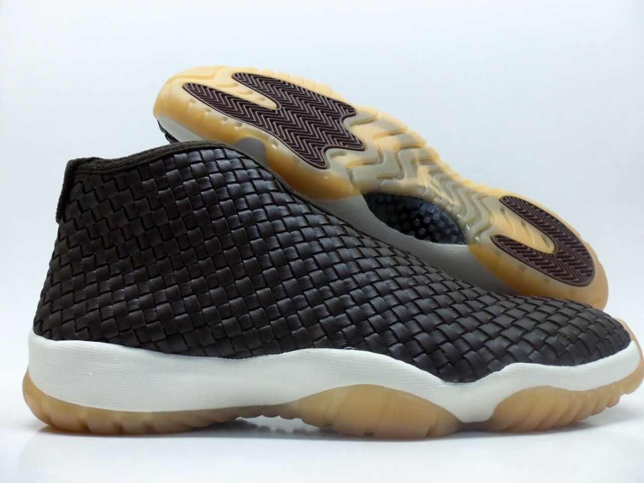 Nike air jordan zukunft premium größe dunkle schokolade / segel größe premium männer 10,5 [652141-219] 403524