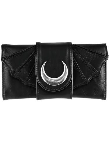 Restyle Gothic Nugoth Fledermaus Flügel Bat Witchy Mond Moon Geldbörse Wallet