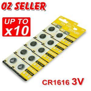5-10X-CR1616-3V-BATTERY-BATTERIES-LITHIUM-CAR-KEY-ALARM-GARAGE-REMOTE-CALCULATOR
